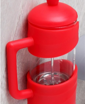 Perotti 350 ml Elegant French Press Kırmızı